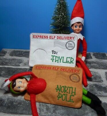 Elves Behaving Badly On The Shelf Felt Elf Toy Christmas Decoration X-Mas Gift
