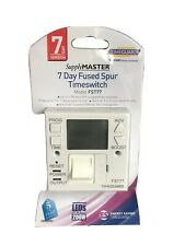 /PL14942 Timeguard Fused Spur Time Switch 7/Day Bpsca FST77/