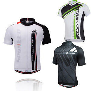 Bike Jersey for Men Cycling Shirt Short Sleeve Breathable Riding ... c893a993f