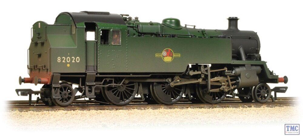 31-980 Bachmann OO Gauge BR Std Class 3MT Tank 82020 BR verde Weatherosso