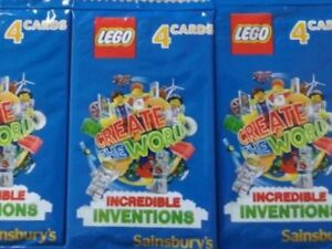 Sainsburys Lego cards Incredible Inventions 2018 Pick 10