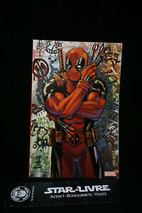 Comics-Deadpool-15-Variant-cover-Paris-Comic-Con-1300-exemplaire-collector