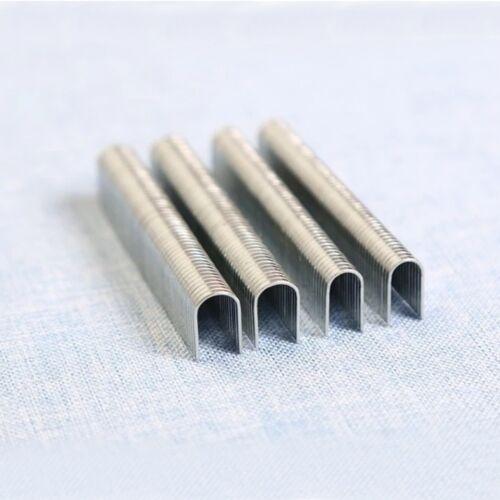 1000PCS U Shaped Staples 12mm Nails For Staple Gun Stapler Galvanized AU SELLER