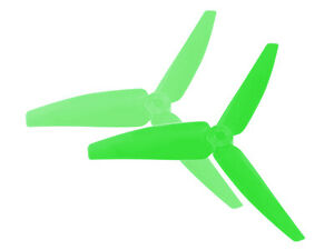 Microheli-Blade-230-S-250-CFX-Green-82mm-3-Bladed-Tail-Blade-MH-230S050GR