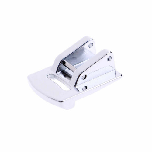 Sliver Rolled Hem Curling Sewing Presser Foot For Sewing Machine Singer JanomeJB