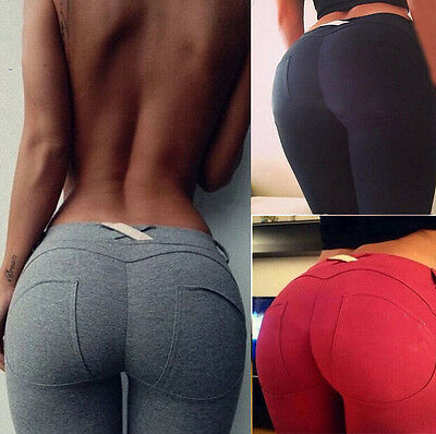 High Waist Slim Skinny Women Leggings Stretchy Pants Jeggings Pencil Pants