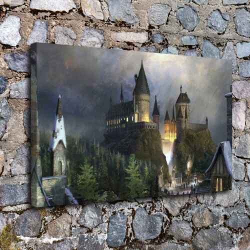 """12/""""x20/""""Fantasy castle HD Canvas Prints Painting Home Decor Room Wall Art Poster"""