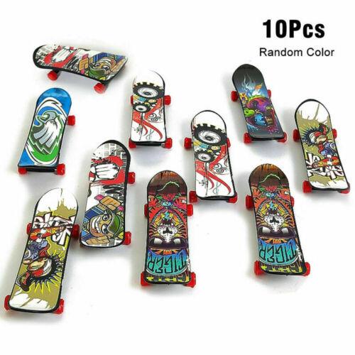 5//10//20Pcs Kids Mini Fingerboard Tech Deck Finger Skate Board Boys Children Toy