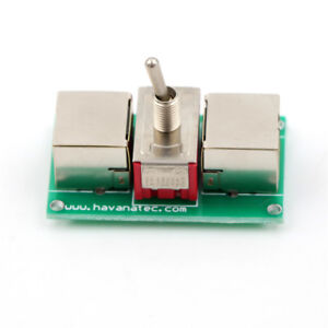 RJ45-Cable-Control-Switch-Jack-Coupler-Reticle-Crystal-Head-Adapter-Connector