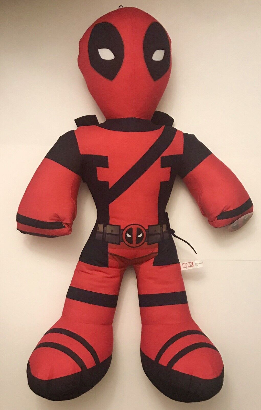 "RARE NEW  Marvel Comics GIANT SIZED Deadpool Plush Doll  (36""-3'-3 Foot Tall)"