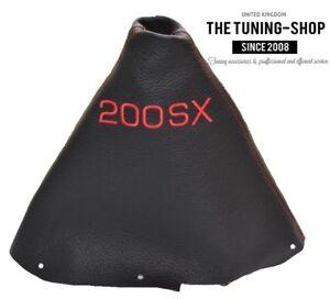 2012/Schaltsack Leder rot F/ür Peugeot 206/206/cc 1998