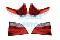 2011-2014 Toyota Sienna L Le Xle Se Models Led Taillights Lamps - 4pcs Set
