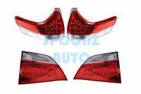 2011-2014 Toyota Sienna L Le Xle Se Models Led Taillights Lamps - 4pcs Set