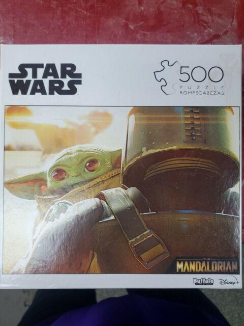 Baby Yoda 500 Piece Jigsaw Puzzle - Star Wars  Mandalorian - Free Shipping