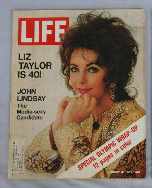 Life Magazine February 25 1972 Elizabeth Taylor