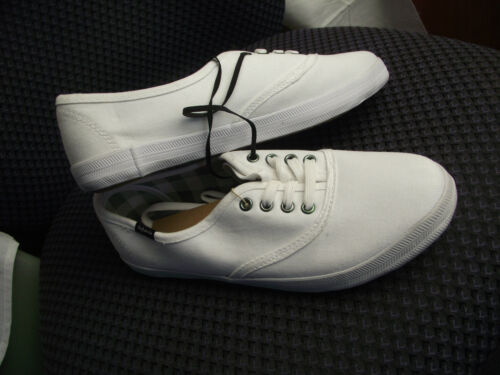 BNWT Teenage Boys Mens Size 9 Rivers Doghouse Brand White Lace Up Casual Shoes