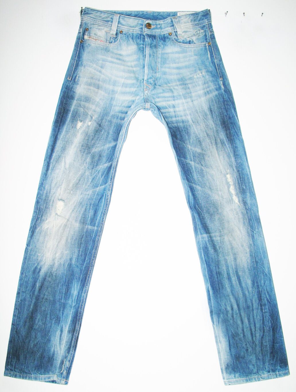 HOT  100% AUTHENTIC Men's DIESEL @ HEEVEN 8TV Slim STRAIGHT LEG Jeans 28 x 32