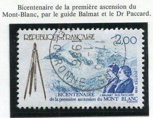 STAMP-TIMBRE-FRANCE-OBLITERE-N-2422-MONT-BLANC-ASCENSION