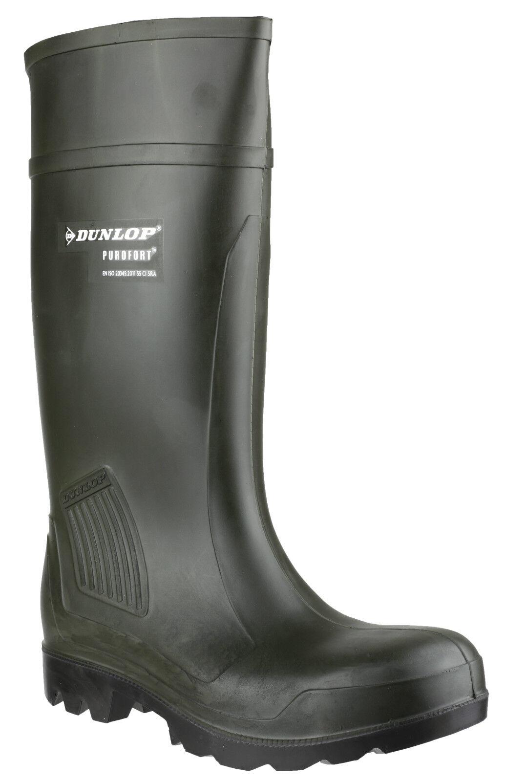 Dunlop Purofort Sicurezza Unisex Impermeabile uk4-13 Professional Wellington uk4-13 Impermeabile 096785