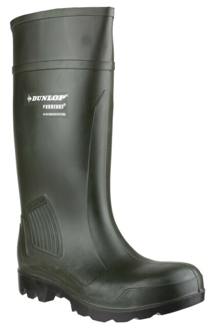 Dunlop Purofort professionale Safety Unisex IMPERMEABILE Wellington uk4-13