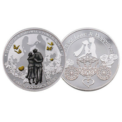 business souvenir gifts metal coin 999.9 silver plated gift coin art crafts