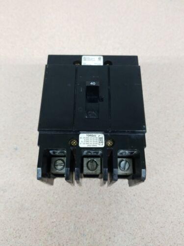 GHB3040 Cutler Hammer Westinghouse 480V 40A Series C GHB Circuit Breaker Eaton