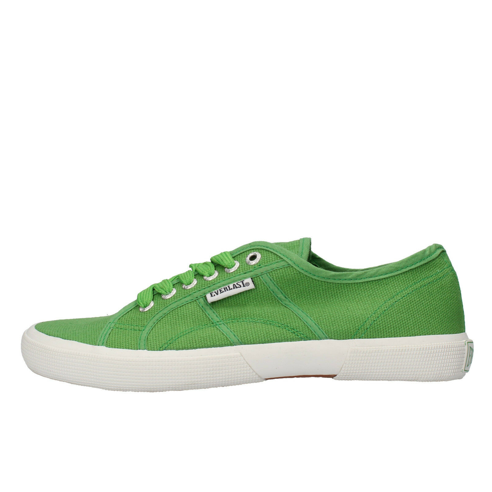 Men's shoes EVERLAST 6 () sneakers green canvas AF717-B