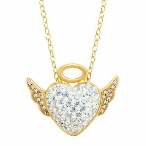 Crystaluxe-Angel-Pendant-w-Swarovski-Crystals-in-14K-Gold-over-Sterling-Silver