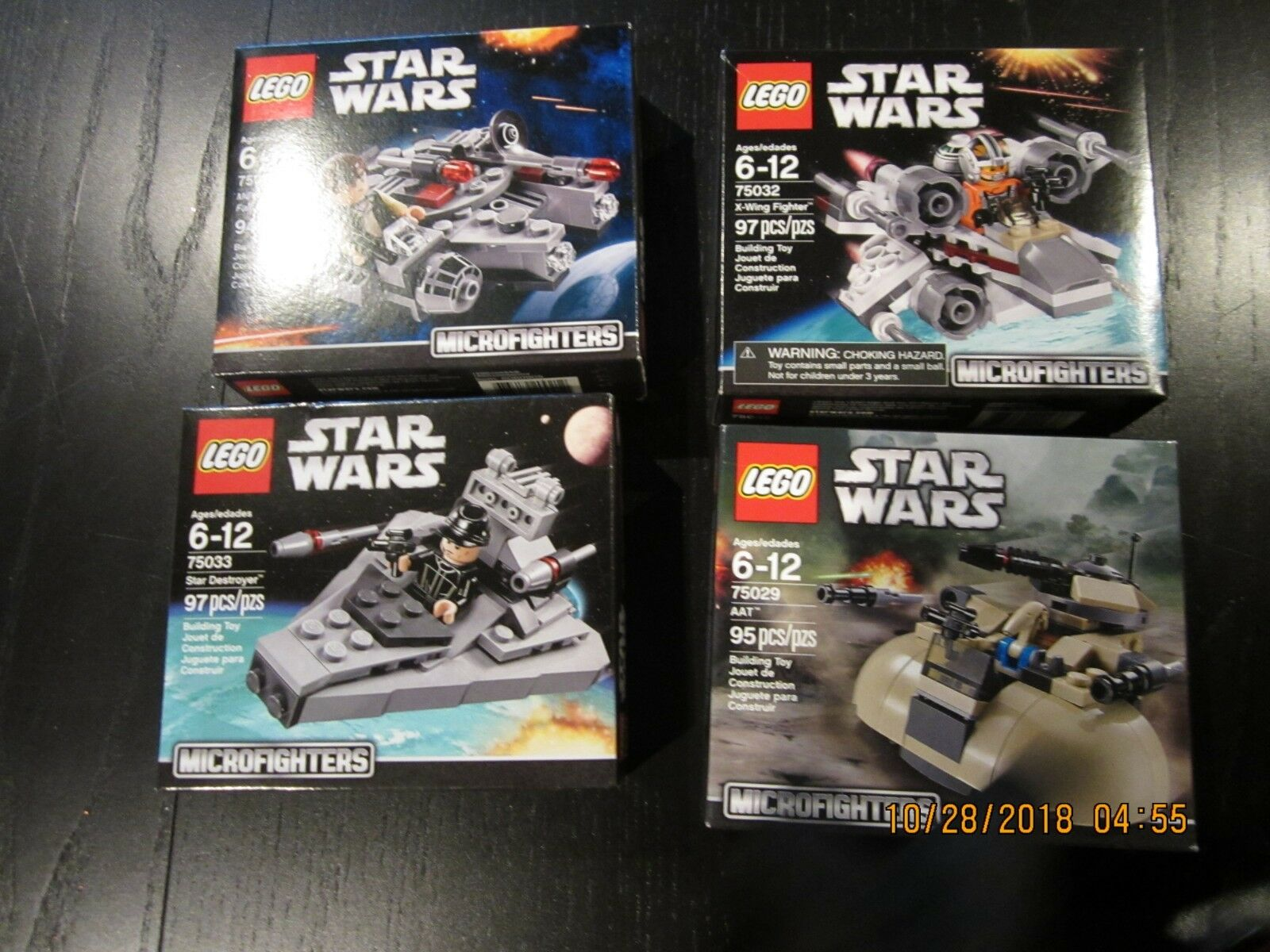 Lego Star Wars Microfighters Micro Fighters Fighters Fighters New in Box 75029 75032 75030 75033 06cc3e