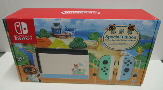 Animal Crossing Nintendo Switch Special Edition 32GB EXCELLENT