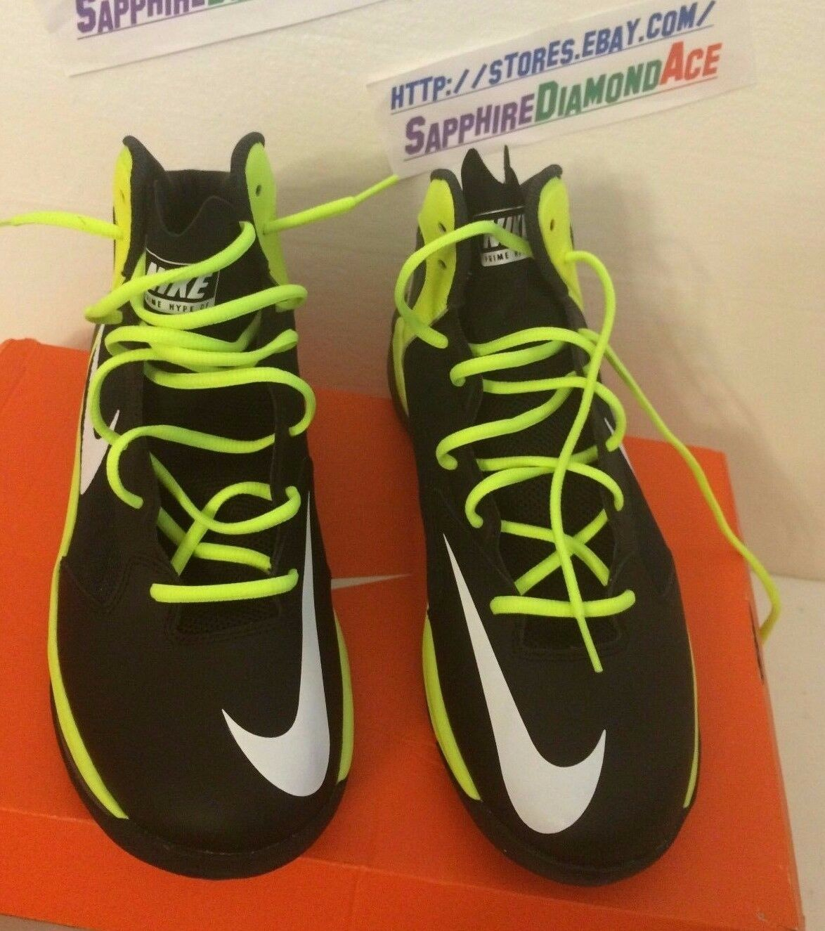 NIKE Prime Hype DF Basketball Shoe US Size 10.5 BRAND NEW   683705 001