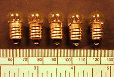 Bulb 3,5 volt - 200 ma M.E.S.(E10 screw) - pack of 5