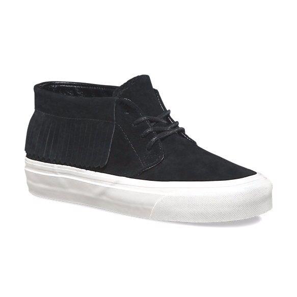 VANS Chukka Blanc Moc DX (Suede) Black Blanc Chukka Suede Boots Men's Size 9.5 26ca77