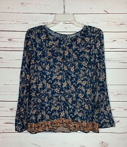 Market & Spruce Stitch Fix Women's S Small Long Sleeve Spring Top Blouse Shirt