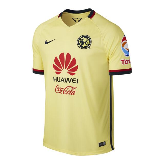 buy popular 3eb2b 01ed3 Nike Club America Official Football Soccer Stadium Home Jersey 2015 S