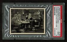 PSA 9 CLARK GABLE & NORMA SHEARER in IDIOT'S DELIGHT Wix Cinema Cavalcade #199
