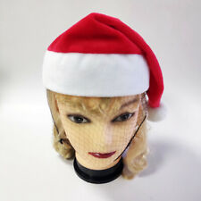 2//3//4Pcs Christmas Flannelette Caps Santa Claus Hat Costume Xmas Party Decor
