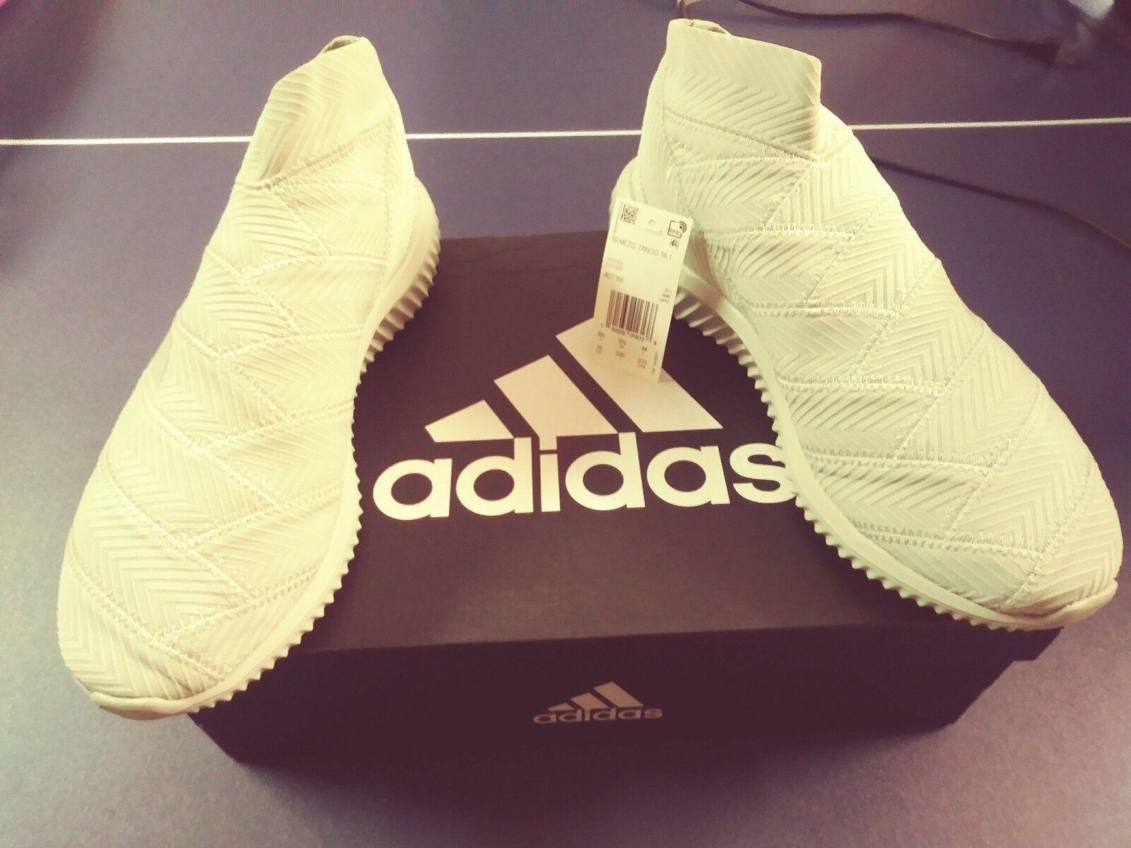 Adidas Nemeziz Tango 18.1 Grey Mens Cross Training Soccer shoes men's size 10