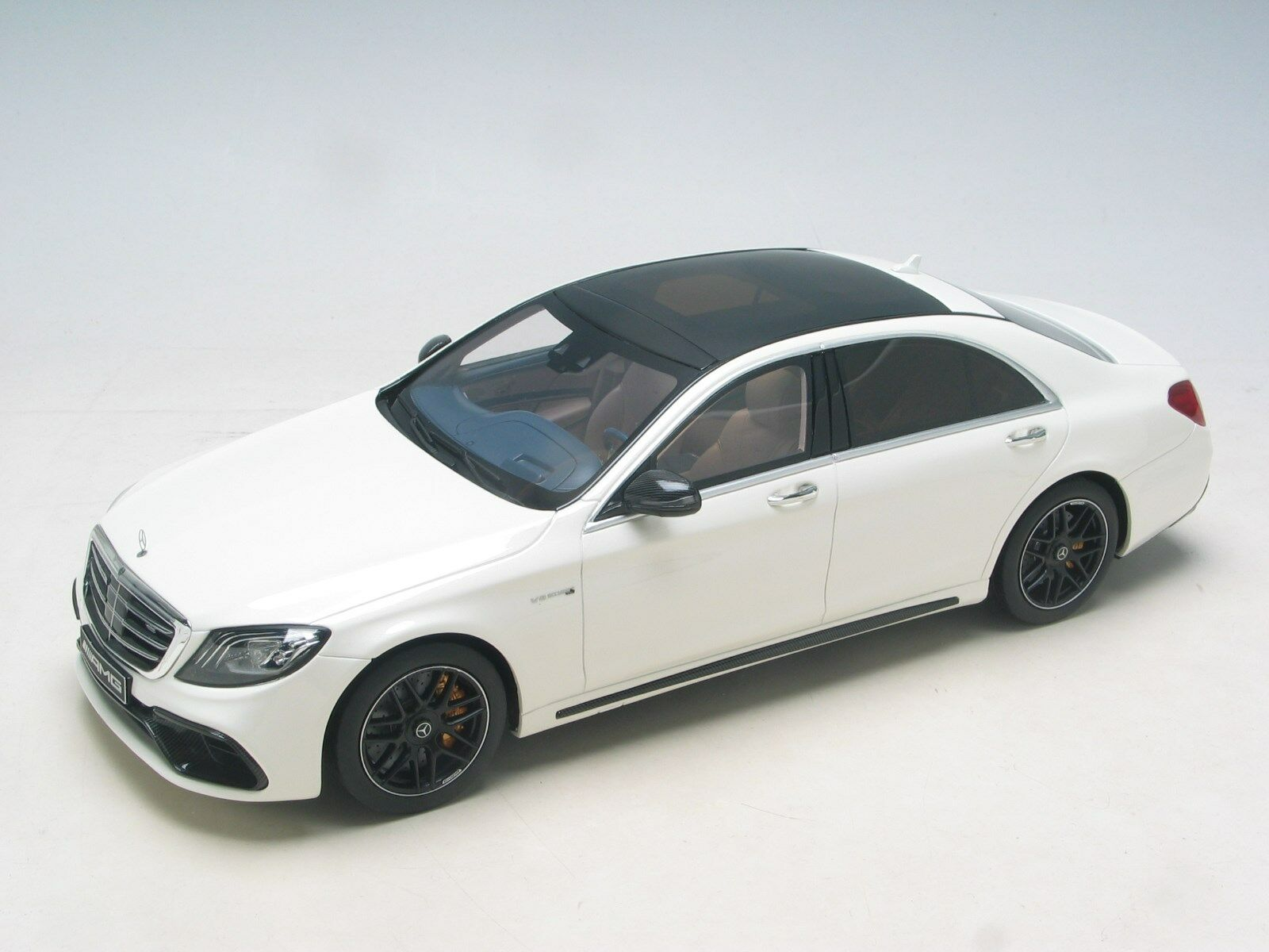 grandes ofertas 1 18 Mercedes-Benz AMG S 63 MOPF Lang Diamante blancoo blancoo blancoo (GT-espíritu) D.V  hermoso
