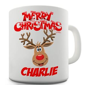 Twisted-Envy-Personalised-Merry-Christmas-Reindeer-Ceramic-Novelty-Mug