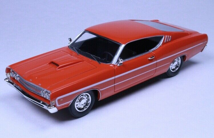 1969 Ford Torino Calypso Coral by Goldvarg Collection