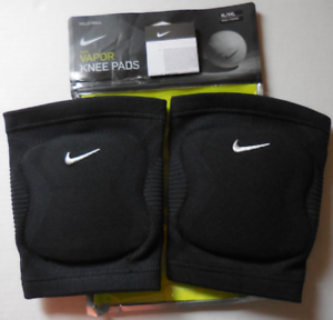 nike adult unisex volleyball vapor knee pads 1 pair color