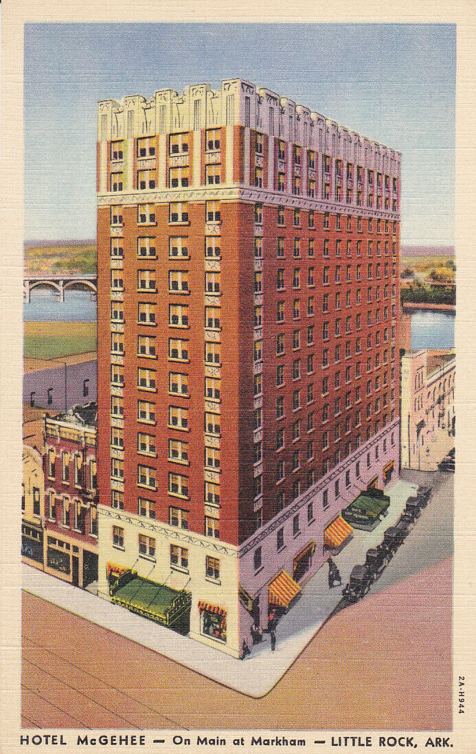 LITTLE ROCK , Arkansas , 30-40s; Hotel McGehee, On Main at Markham