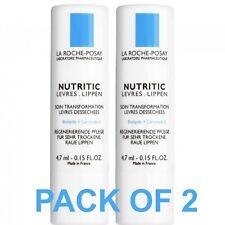 La Roche-Posay Nutritic Lips Transforming  Care Lip Balm, 0.15 Fl. Oz. Nicesee 60pcs Gel Anti-Wrinkle Dark Circle Collagen Eye Mask