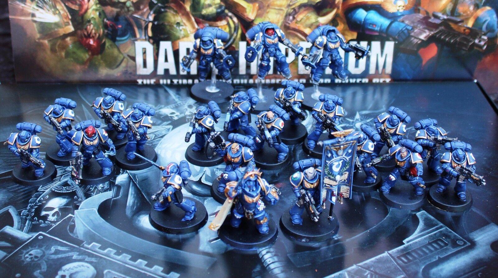 Primaris Space Marines Army Pro Painted MADE to Order. scegli la tua capitolo