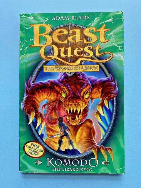komodo the lizard king series 6 book 1adam blade