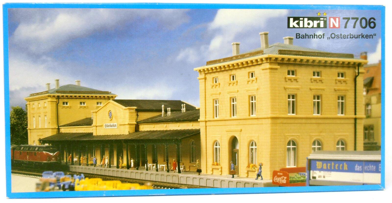 Kibri 7706 | Stazione ferroviaria  Osterburken  | N | NUOVI