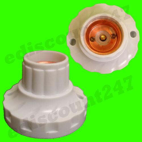 10x de alta calidad es E27 Lámpara Edison Montaje Soporte Reino Unido Stock mismo día de despacho.