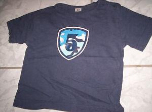 """Super T-Shirt, dunkelblau Motiv """"5"""" Gr. 74/80 - Deutschland - Super T-Shirt, dunkelblau Motiv """"5"""" Gr. 74/80 - Deutschland"""