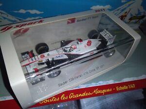 SPARK-1-43-SAUBER-F1-TEAM-C30-FERRARI-16-CHINA-GP-2011-KOBAYASHI-NEUF-EN-BOITE
